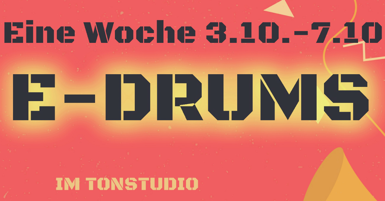 E-Drums im Tonstudio